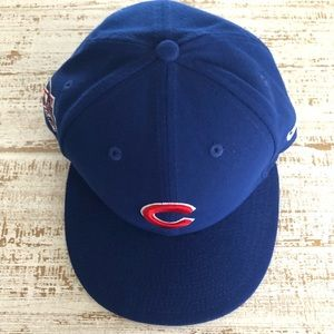 SnapBack Blue Chicago Cubs Hat